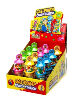 Gas Pump Candy Dispenser (12 Pc. Display)