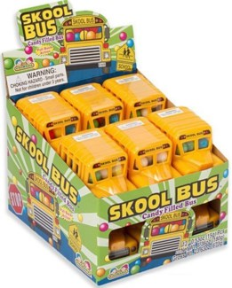 Candy Filled School Bus (12 Pc. Display)