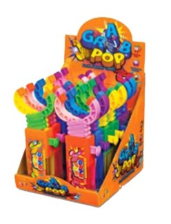 Grab Pop Fruit Flavored Candy (12 Pc. Display)
