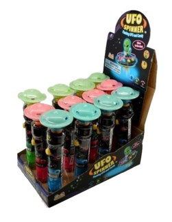 UFO Spinner (12 Pc. Display)