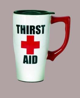 Thirst Aid Travel Mug