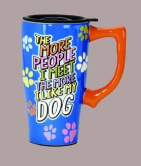 The More People Travel Mug