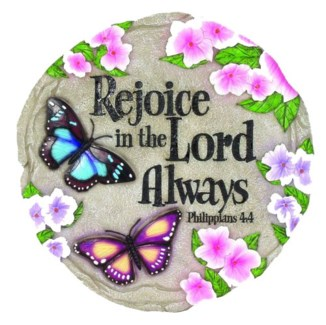 Rejoice in the Lord Stepping Stone