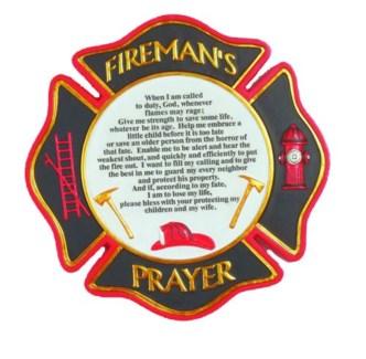 Fireman's Prayer Stepping Stone