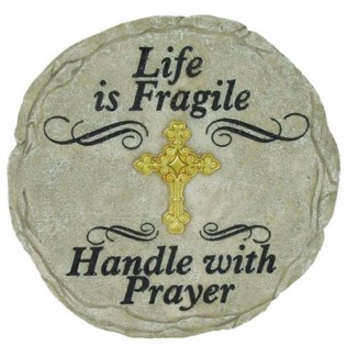 Life Is Fragile Stepping Stone