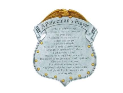 Policeman Stepping Stone
