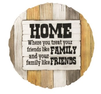 Friends Like Family Stepping Stone
