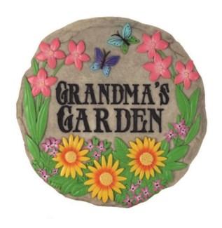 Grandma's Garden Stepping Stone
