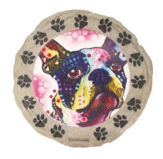 Pit Bull Stepping Stone