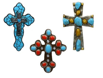 Cross Magnets (Assorted)