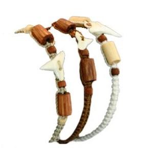 Assorted Shark Tooth Bracelets