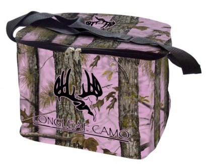 Longleaf Soft Sided Cooler - Pink Camo