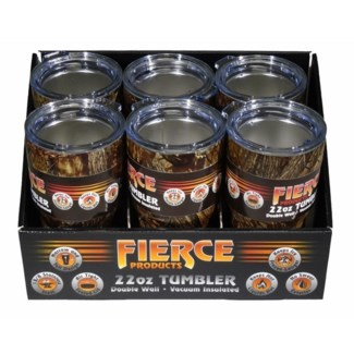 22 oz. Tumbler - Camo (6 Pc. Display)