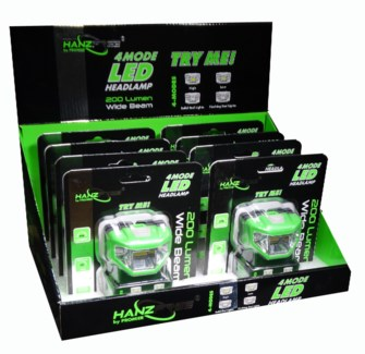 200 Lumen 4-Way Headlight