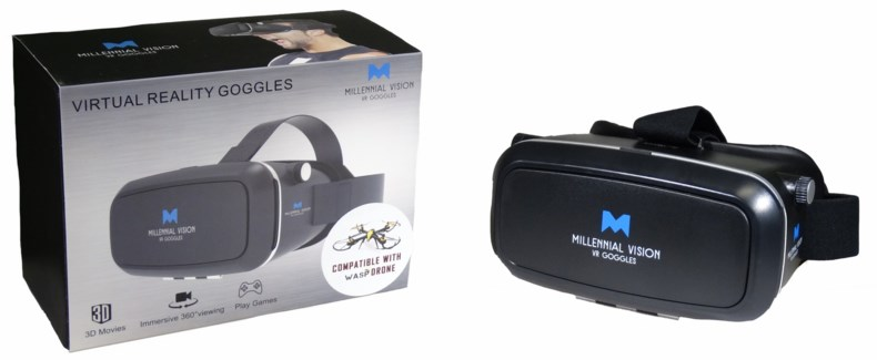 Virtual Reality Goggles - Black
