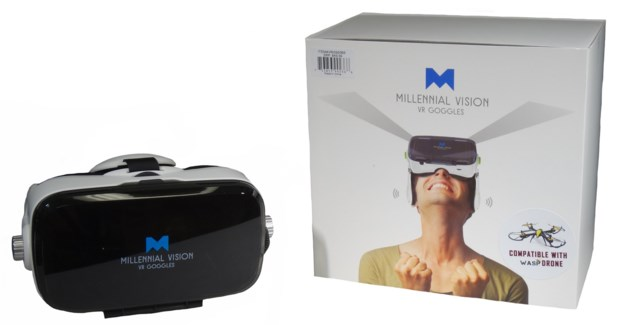 Virtual Reality Goggles W/Headphones