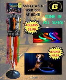 LED Safety Dog Leash