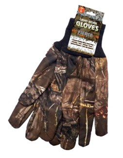 Muddy Water Camo Gloves