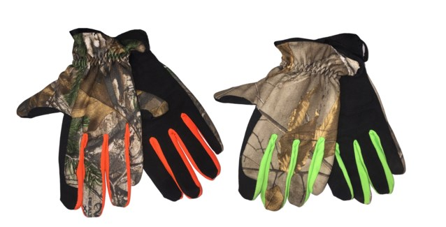 Realtree Camo Gloves with Elastic Cuff