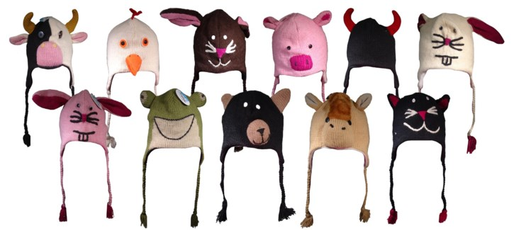 Animal Knit Hats