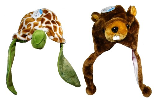 Plush Animal Hats