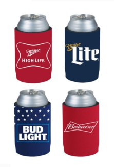 Can Koozies - Beer Brand Edition