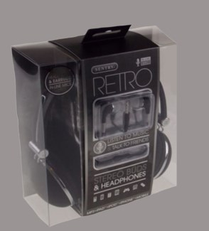 Retro Headphone W/Mic