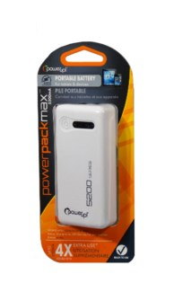 Backup Battery & Charger 5200mA (White)