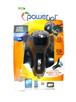12V 2-Port W/USB