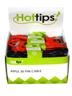 HT Apple 30 Pin Bulk (24 Pc. Display)