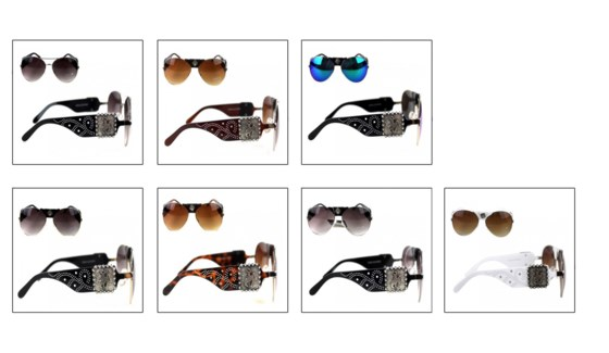 Rodeo Collection Aviator Sunglasses