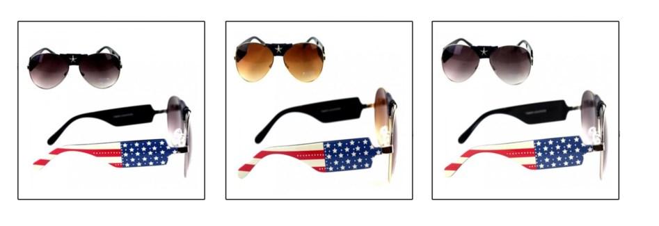 US Pride Collection Aviator Sunglasses