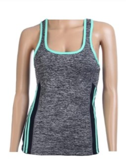 Active Wear Top - Teal