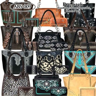 Pre-Pack Purses & Wallets - AB-044