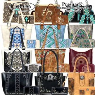 Pre-Pack Purses & Wallets - Pre-Selected (Colors May Vary)