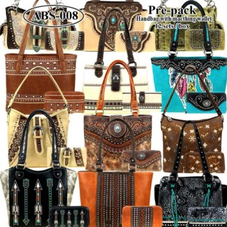 Pre-Pack Purses & Wallets - AB-041