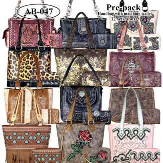 Pre-Pack Purses & Wallets - AB-047
