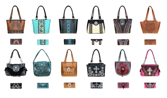 Pre-Pack Purses & Wallets - AB-043