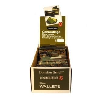Men's Camo Leather Wallet