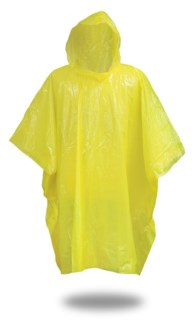 .4 mm Poncho - Yellow
