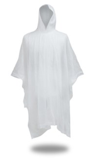 .10 mm Poncho - Clear
