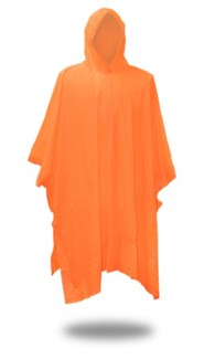 .10 mm Poncho - Orange