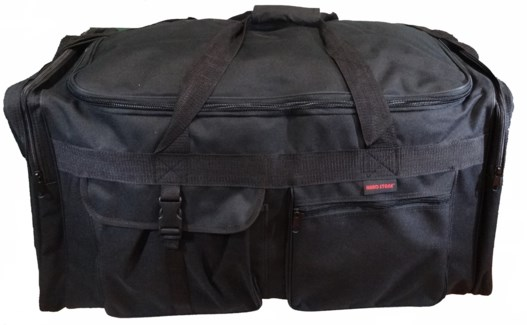 "30"" Black Duffle W/4 Pockets"
