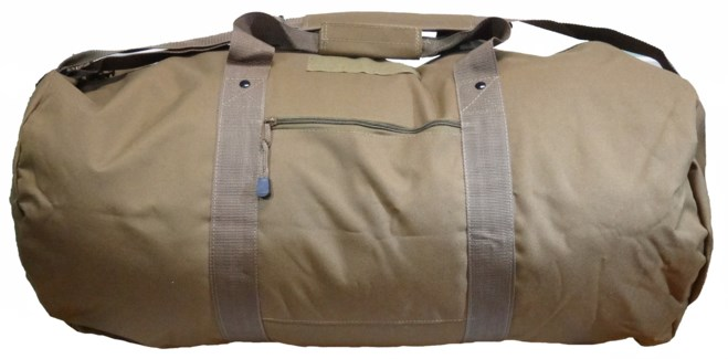 "31"" Tan Duffle Bag"