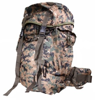 Large Digital Camo Backpack (Green)