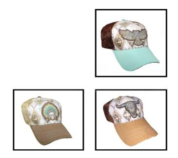 Aztec Style Caps