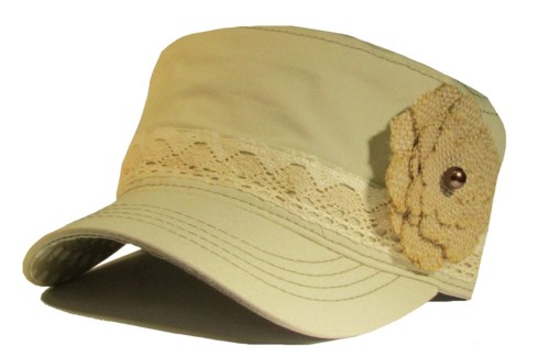 Sun Protection Ear Flap Hat - Camo