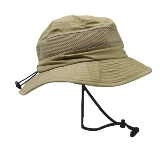 Khaki Microfiber Boonie Hat