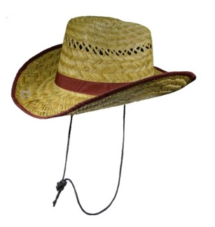 Straw Coolie Hat