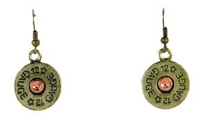 12 Gauge Shotgun Shell Earrings
